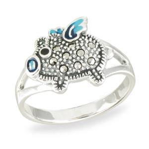 Marcasite jewelry ring HR1561 001