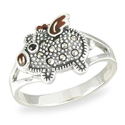 Marcasite jewelry ring HR1561 01