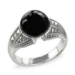 Marcasite jewelry ring HR1563 001