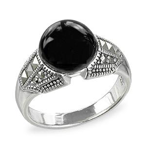 Marcasite jewelry ring HR1563 001