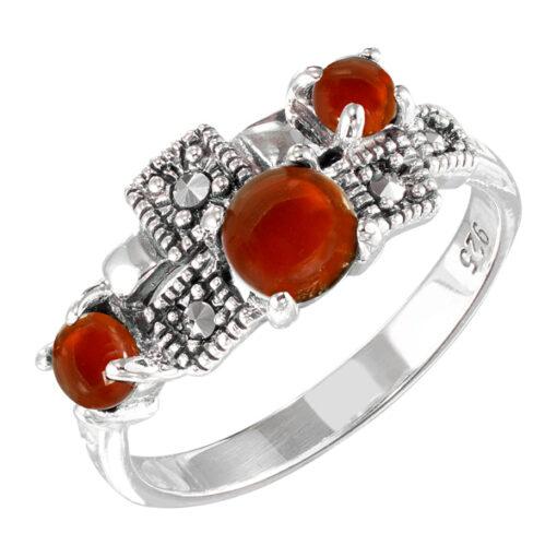 Marcasite jewelry ring HR1564 001