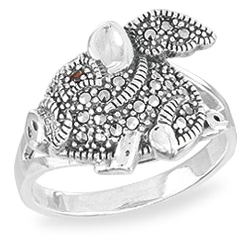 Marcasite jewelry ring HR1565 001
