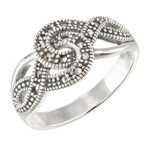 Marcasite jewelry ring HR1567 001