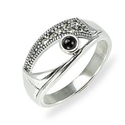 Marcasite jewelry ring HR1569 001