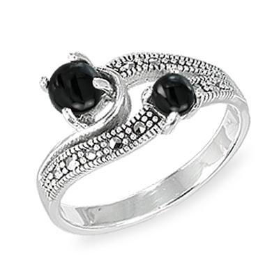 Marcasite jewelry ring HR1571 001
