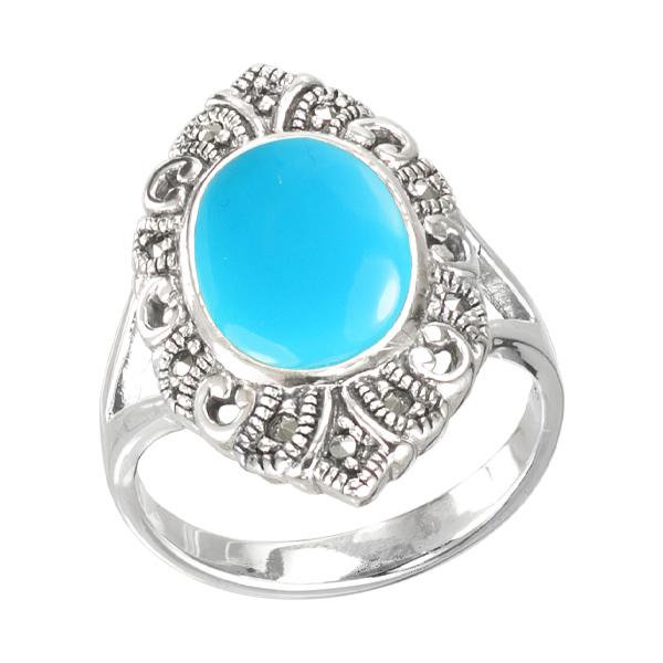 Marcasite jewelry ring HR1574 001